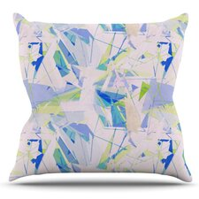 Shatter by Alison Coxon Outdoor Throw Pillow