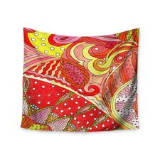 Swirls by Rosie Brown Wall Tapestry