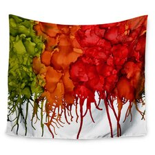 Fall Splatter by Claire Day Wall Tapestry