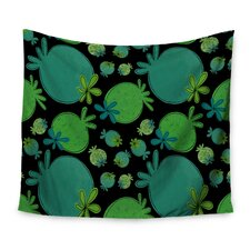 Garden Pods by Jane Smith Wall Tapestry