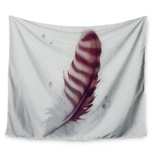 The Feather by Lydia Martin Wall Tapestry