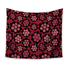 Garden Pods Repeat by Jane Smith Wall Tapestry