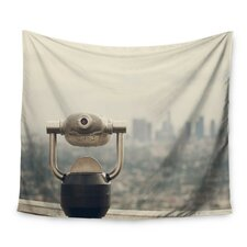 The View LA by Catherine McDonald Wall Tapestry