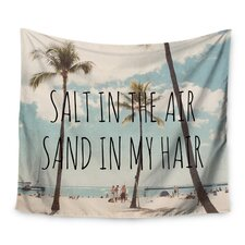 Salt in the Air by Nastasia Cook Wall Tapestry