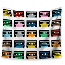 Rainbow Tapes by Project M Wall Tapestry