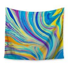 Rainbow Swirl by Ingrid Beddoes Wall Tapestry