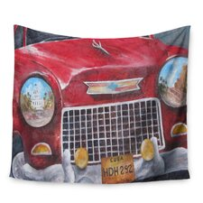 Vintage in Cuba by Rosie Brown Wall Tapestry