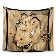 Panther by Jennie Penny Wall Tapestry