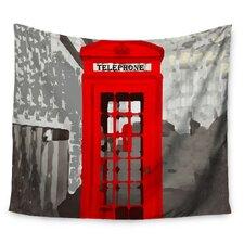 London by Oriana Cordero Wall Tapestry