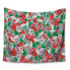 Flying Tulips by Akwaflorell Wall Tapestry