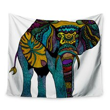 Elephant of Namibia by Pom Graphic Design Wall Tapestry