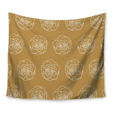 Golden Peonies by Pellerina Design Wall Tapestry
