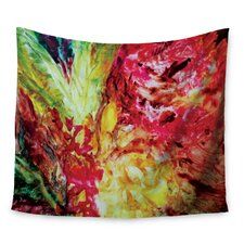 Passion Flowers I by Mary Bateman Wall Tapestry