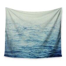 Foggy Morning Ocean by Debbra Obertanec Wall Tapestry