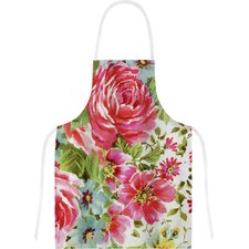 Walk Through The Garden by Heidi Jennings Flowers Artistic Apron
