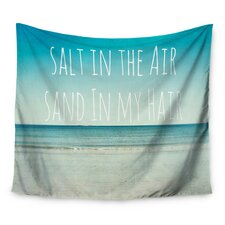 Salt in the Air by Debbra Obertanec Wall Tapestry