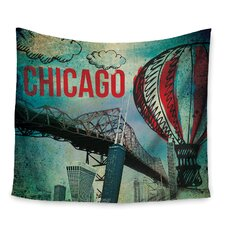 Chicago by iRuz33 Wall Tapestry