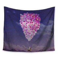 Never Stop Exploring IV by Monika Strigel Wall Tapestry