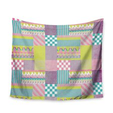 Patchwork by Louise Machado Wall Tapestry