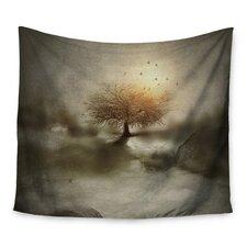 Lone Tree Love IV by Viviana Gonzalez Wall Tapestry