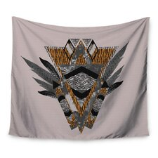 Indian Feather by Vasare Nar Wall Tapestry
