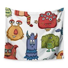 Little Monsters by Brienne Jepkema Wall Tapestry