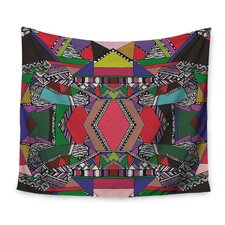 African Motif by Vasare Nar Wall Tapestry
