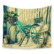 Just Married by Robin Dickinson Wall Tapestry