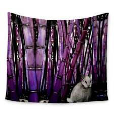 Bamboo Bunny by Theresa Giolzetti Wall Tapestry