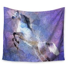 Abstract Horse by Ancello Wall Tapestry