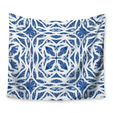 Blue Explosion by Miranda Mol Wall Tapestry