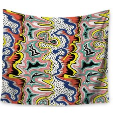 Modern Expression by DLKG Design Wall Tapestry