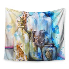 Bottled Animals by Kira Crees Wall Tapestry
