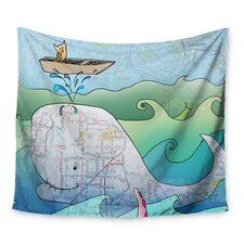 I'm on a Boat by Catherine Holcombe Wall Tapestry