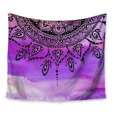 Lilac Mandala by Li Zamperini Wall Tapestry
