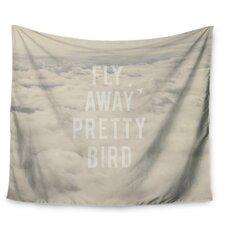 Fly Away Pretty Bird by Catherine McDonald Wall Tapestry