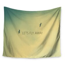 Let's Fly Away by Richard Casillas Wall Tapestry