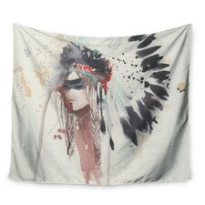 Warrior Bride by Rebecca Bender Wall Tapestry