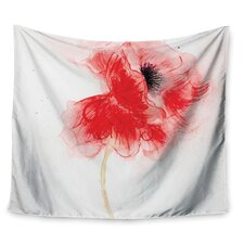 Poppy by Louise Wall Tapestry