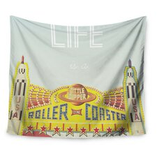 Life is a Rollercoaster by Libertad Leal Wall Tapestry