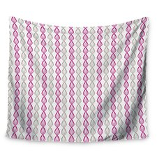 Plum Pod by Julie Hamilton Wall Tapestry