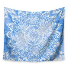 Boho Flower Mandala by Nika Martinez Wall Tapestry