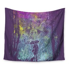 Purple Rain by Frederic Levy-Hadida Wall Tapestry
