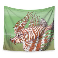 Fish Manchu by Catherine Holcombe Wall Tapestry