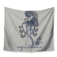 Aquarius by Belinda Gillies Wall Tapestry