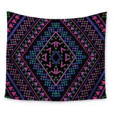 Neon Pattern by Nika Martinez Wall Tapestry