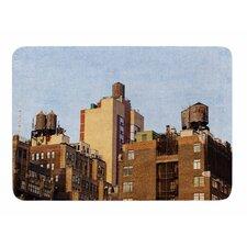 Vintage NYC by Ann Barnes Memory Foam Bath Mat