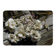 Rustic Flowers by Nick Nareshni Memory Foam Bath Mat