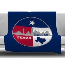 Dallas Texas by Bruce Stanfield Fleece Blanket