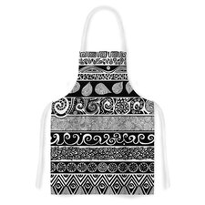 Tribal Evolution by Pom Graphic Design Artistic Apron